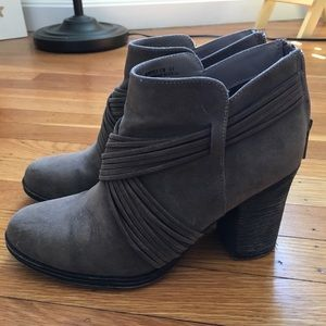 Size 8.5 brown boots from Lulus